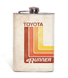 Retro Toyota - 4Runner - 8oz Flask – Wicked Wheeler