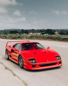 Pin by Leland Bostick on Ferrari Ferrari F40, Lamborghini, Bugatti, New Sports Cars, Sport Cars, Porsche 935, Car Racer, Jaguar Xk, Best Classic Cars