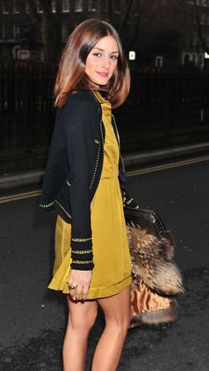 Throwback:Olivia Palermo at London Fashion Week Street Style Estilo Olivia Palermo, Olivia Palermo Lookbook, Olivia Palermo Style, Estilo Fashion, Look Fashion, Ideias Fashion, Fashion Outfits, Love Her Style, Style Me