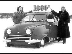 1949-1956 Saab 92 - 1950 Number 1000