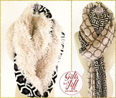 Toasty Fleece & Faux Fur Loop Scarves: Gifts in a Jiff with Fabric.com   Sew4Home