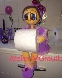 Resultado de imagem para boneca para banheiro em eva