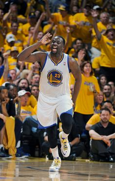 Game 4 | Draymond Green finished the night with 13 points and six rebounds.