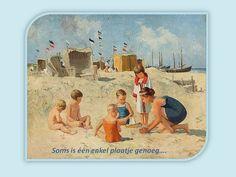 NATUUR mijn PASSIE - NATURE and POETRY: Strandgenoegens.