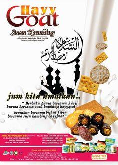 SUSU KAMBING HAYYGOAT: salam Ramadhan bersama susu kambing hayygoat.