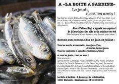 La Boite à Sardine - Restaurant - 2 Boulevard de la Libération 13001 Marseille - 04 91 50 95 95
