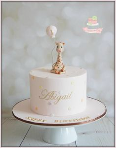 Sophie the Giraffe - Cake by Jo Finlayson (Jo Takes the Cake)