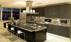 modern kitchen islands - Google Search