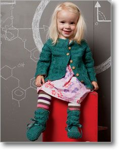 How cute would your little leprechaun be in this Little Mary Anning Set? #knittingdaily