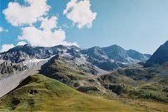 Into the mountains. Alps