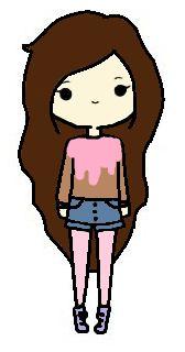 Mein kawaii Karakter Oblyvian Girls, Hipster Girls, Goth Art, Tumblr Girls, Aesthetic Photo, Cute Girls, Chibi, Diy And Crafts, Doodles
