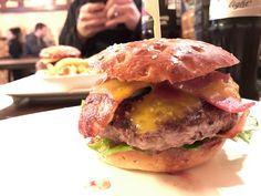 """BBQ Bacon Burger in der """"Einburgerung"""", Köln - Südstadt"""