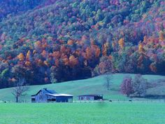 Old Barn. Tazewell, Virginia