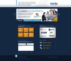 Hotsite - Gestão Integrada da Qualidade Caribe Informática