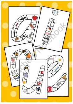 Short vowel sound letter jigsaw puzzles product from Just-Teach on TeachersNotebook.com