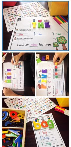 Secret Words Bundle - Phonics and Sight Words Word Work