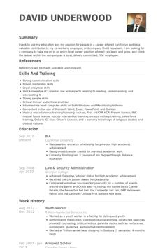 Security Resume Template Unique Security Resume  Federal Resume Example Free Federal Resume Sample .