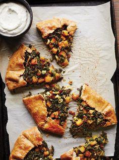 Tarte rustique au kale #foodphotography #ricardo #autumn