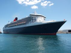 Queen Mary 2 - from Cunard. Seen here in Freemantle