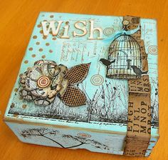 Some PaperArtsy fun from the lovely Cath Stewart.