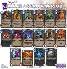 #Hearthstone Charge Aggro Warrior | S22