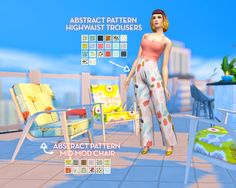 "plumbobteasociety: "" Sjane's Mid-Mod Birthday Set It was the lovely birthday a few weeks ago and we came together to make her a few gifts in her favorite mid-century modern style! A collaboration between Sims 4 Mm Cc, Sims Four, Sims 4 Cas, My Sims, Maxis, Sims 4 Clothing, Sims 4 Cc Finds, Sims Resource, The Sims4"