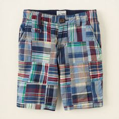 bfede810f3 Patchwork Shorts #ChildrensPlace $20 Big Fashion, Boy Shorts, Patterned  Shorts, Swim Trunks