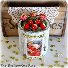 The Enchanting Rose: A Can Of Berries