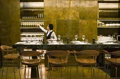 use of brass in restaurants - Google Search