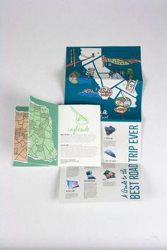 New Travel Guide Brochure City Maps Ideas Leaflet Design, Map Design, Book Design, Design City, Travel Brochure Design, Brochure Layout, Prospectus, San Francisco Travel, Travel Maps
