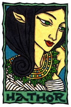 Hathor, Egyptian Goddess of Women and Celebration