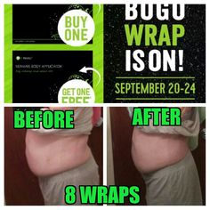 I'm getting there. Need more wraps lol glad for the BOGO sale. www.laughloudandwrap.myitworks.com