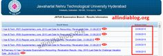 jntuh 1st year results 2015