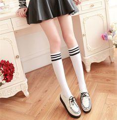 Japanese students stockings