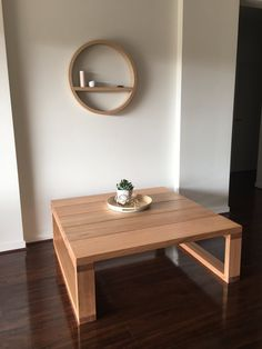 We are Jim & James, a small home workshop located in Melbourne's west that specialises in quality hand made products. Tv Stand And Coffee Table, Rustic Coffee Tables, Diy Coffee Table, Porch Table, Diy Dining Table, Pallet Furniture Designs, Custom Furniture, Homemade Coffee Tables, Centre Table Living Room