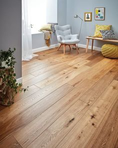 Description:The Woodpecker Harlech Smoked Oak floor is alive with multi-tonal and natural character. With warming colours of timber the Harlech Smoked Oak is perfect for creating a cosy feel in any interior space. Every highlight and shadow Living Room Wood Floor, Living Room Flooring, Living Room Kitchen, Bedroom Flooring, Bedroom Wood Floor, Garage Flooring, Cork Flooring, Laminate Flooring For Kitchens, Bedrooms With Wood Floors