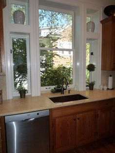 Window Sill Flush With Counter Design Ideas, Pictures, Remodel, and Decor Ikea Kitchen Furniture, Kitchen Decor, Mall, Kitchen Window Sill, Kitchen Floor Plans, Counter Design, Kitchen Models, Window Design, Kitchen Layout