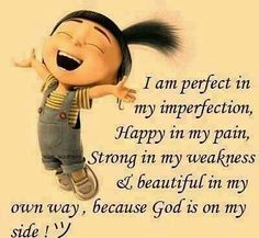 I am perfect life quotes quotes quote god religious quotes happy life quote… Funny Good Morning Messages, Cute Good Morning Quotes, Good Morning Inspirational Quotes, Uplifting Quotes, Images For Facebook Profile, Religion, Funny Quotes, Life Quotes, Hurt Quotes