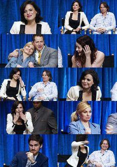 The cast is hilarious!! This all happened at Paleyfest 2013 :)