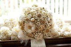brooch bouquet like whoa.