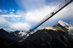 Europabrucke - najdłuższ wiszący most na świecie - Podróże