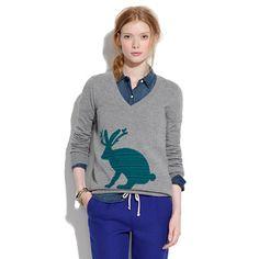 Giant Jackalope Sweater/