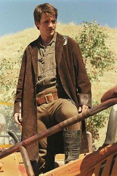Captain Malcolm Reynolds, aka Nathan Fillion