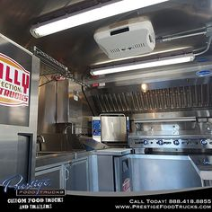 A Lot Can Fit In Little Food Truck Heres Look At The Inside Of Build Out That We Did Recently For Philly Connection