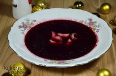 barszcz czerwony Magdy Gessler Fruit Recipes, Cooking Recipes, Polish Soup, Polish Recipes, Christmas Cooking, What To Cook, Christmas Treats, Gluten Free Recipes, Diet