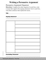 teaching persuasive writing 5th grade Download lesson plans for every grade level this is called persuasive writing distribute copies of write persuasively (grades 3-5.