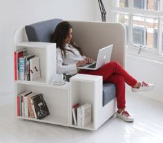 The Ultimate Book Nook For Bibliophiles    ---  from InventorSpot.com --- for the coolest new products and wackiest inventions.