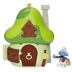 Smurf Mushroom House