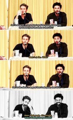 They really are Fili and Kili