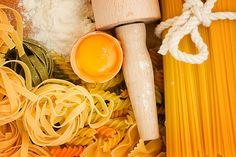 Making homemade pasta with a wooden roller by Anastasy Yarmolovich #AnastasyYarmolovichFineArtPhotography  #ArtForHome #Food